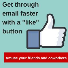 evangelizing the (digital) natives : Email Ninja Trick: Add A Like Button