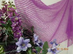 Ciclamino Knitting pattern by malvainfiore knitting and bijoux Shawl Patterns, Knitting Patterns, Baby Shawl, Prayer Shawl, Pattern Library, Knitted Shawls, Delicate, Stylish, Ravelry