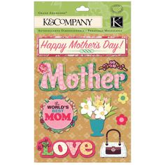 Make every project a grand one! Show a special mom how much you love her with a handcr...