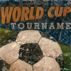@rosenberryrooms is offering $20 OFF your purchase! Share the news and save!  World Cup Soccer Canvas Wall Art #rosenberryrooms