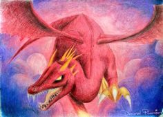 Fire Dragon by DanimalPhantom.deviantart.com on @DeviantArt