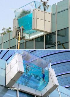 swimming pool? sky pool? in Dubai