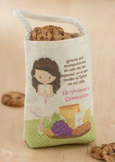 Bolsa para galletas primera comunión