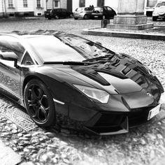 Phenomenal  Black Lamborghini Aventador!
