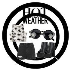 """""""Hot Weather"""" by maryheiddal on Polyvore featuring Topshop, Chicnova Fashion and Fahrenheit"""