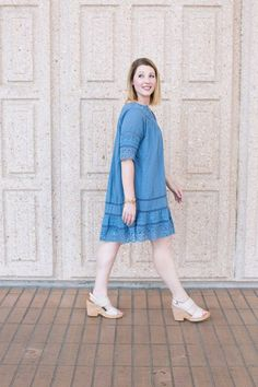 Mom life. Your shoes need to cute AND functional. These comfortable wedges are mom outfit PERFECTION! #zapposstyle #seecomfortdifferently ad