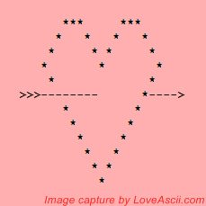 pink heart shot by cupid Cute Relationship Texts, Cute Relationships, Emoji Texts, Text Symbols, Ascii Art, Art Archive, Kaito, Cupid, Funny Texts