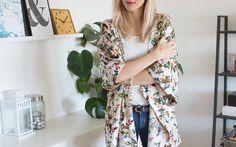 Kimono / DIY Stories / Eurokangas Kimono Top, Diy, Tops, Women, Fashion, Moda, Bricolage, Shell Tops