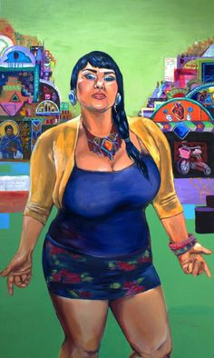 Chicana art...29 dolores...by: cystal galindo