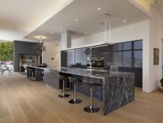 Sleek kitchen - Sean Sassounian