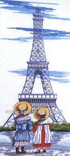 Buy+Eiffel+Tower+Cross+Stitch+Kit+Online+at+www.sewandso.co.uk