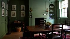 farrow ball chalke green dining room My Favorite Green Paint Colors. Room Colors, Green Rooms, Green Paint Colors, Interior, Breakfast Room Green, Green Dining Room, Home Decor, Dining Room Inspiration, Room