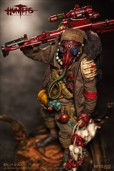 toyhaven: BLITZWAY X BHEADworks 1/6th scale Hunters: Day After WWIII - BOY 12-inch Collectible Figure