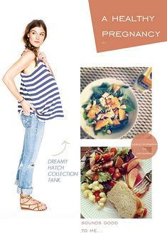 a blog series on having a healthy pregnancy. { will be useful someday ;) }