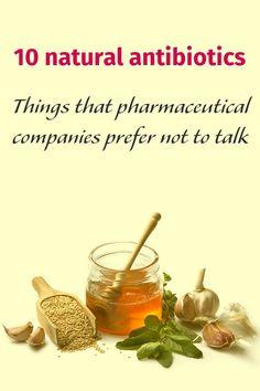 10 natural antibiotics