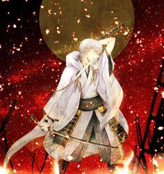 Touken Ranbu Touken Ranbu, Nikkari Aoe, Japanese Games, Akita, Anime Guys, Idol, Fantasy, Swords, Character
