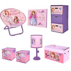 Disney's Sofia the First Kids Bedroom Collection Sofia The First Room, Sofia The First Birthday Party, Daddy Birthday, Birthday Gifts, Bedroom Themes, One Bedroom, Girls Bedroom, Bedroom Ideas, Bedrooms