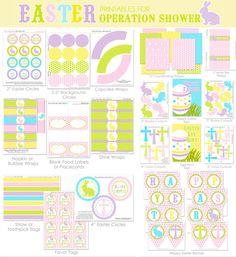 FREE Easter Printables Set