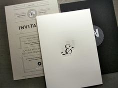 love the L&N #letterpress #invitations printed by Studio on Fire