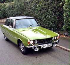 1977 Rover P6 3.5 V8 Saloon. Seeing this car reminds me of our trip to Israel and driving to the airport