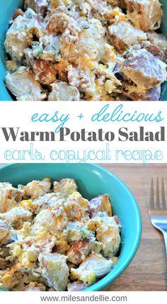 Warm Potato Salad Earls Copy Cat Recips