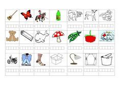 Betűkihagyás javítására Dysgraphia, Grade 1, Worksheets, Crafts For Kids, Preschool, Teaching, Dyslexia, Reading, Learning