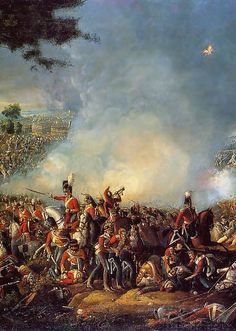 The Battle of Waterloo, June 1815 Military Art, Military History, Pax Britannica, Historical Romance Authors, Empire, World Of Warriors, Battle Of Waterloo, Napoleonic Wars, Kaiser