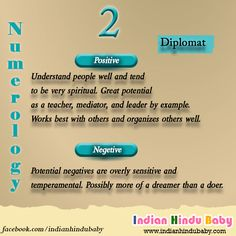 See the collection of hindu baby boy and girl names with Numerology number 2 and chose one for your loved ones - https://www.indianhindubaby.com/numerology-number-2/
