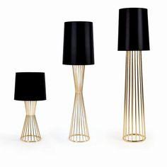 Lighting as sculpture. Matter's tulip lamp collection.