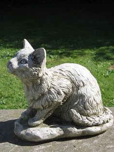 Teatime Cat Statue