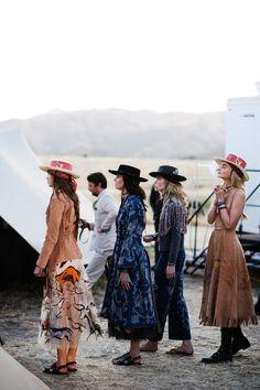 All of the Magic Backstage at Dior Resort 2018 - HarpersBAZAAR.com