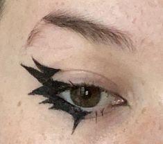 Punk Makeup, Indie Makeup, Edgy Makeup, Grunge Makeup, Makeup Inspo, Cute Makeup Looks, Makeup Eye Looks, Eye Makeup Art, Pretty Makeup