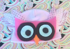 Owl hat for children to make