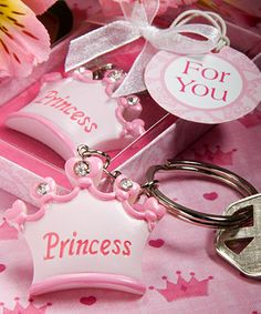 Princess Baby Shower Favors. For more baby shower ideas visit www.getthepartystarted.etsy.com