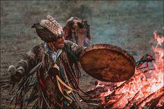 Tuvan shaman