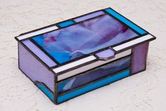 Stained Glass Heirloom Box