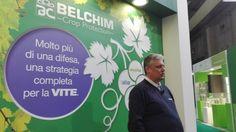 #fieragricola Novità specifiche per la #viticoltura presentate da #belchim . #vino #vite