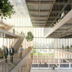 Galería de Tomás Villalón, Nicolás Norero y Leonardo Quinteros ganan concurso del nuevo edificio municipal de Providencia - 4