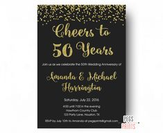 20 great 25th wedding anniversary invitation wording ideas image result for 50th wedding anniversary invitations stopboris Image collections