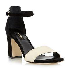 Dune Black Damen Zweiteilige Sandalen mit Blockabsatz Schwarz - http://on-line-kaufen.de/dune/dune-black-damen-zweiteilige-sandalen-mit
