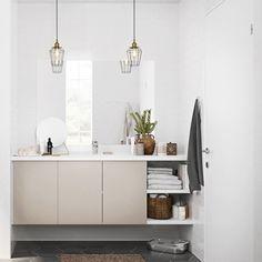 Stockholm, Double Vanity, Cabinet, Bathroom, Storage, House, Furniture, Home Decor, God