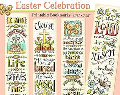 Luke 1-4 Bible Bookmarks Bible Journaling Tags by karladornacher