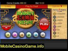 Real Money Dragons Fortune   iPhone Casino Game Bonuses