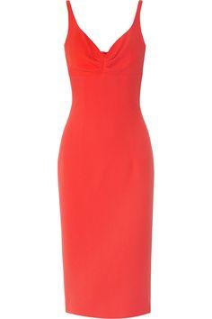 LWren Scott|Stretch-crepe midi dress|NET-A-PORTER.COM