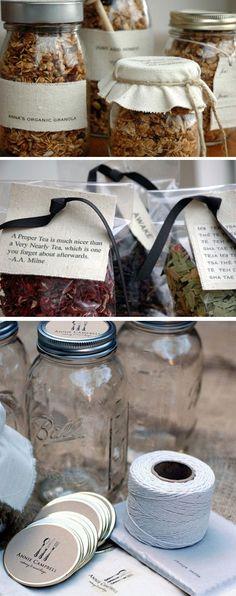 DIY Inspiration - Granolas, Teas, Canning Wrap Ideas and Inspiration