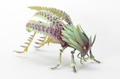 Imaginative Insects Formed From Resin and Brass by Hiroshi Shinno | Colossal