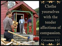 Tuesday, August 16 Clothe yourselves with the tender affections of compassion.—Col. 3:12. http://wol.jw.org/en/wol/h/r1/lp-e