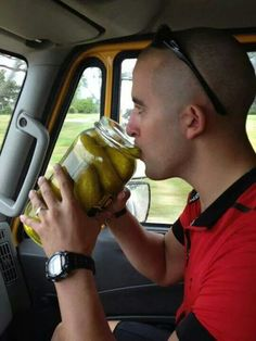 Benefits of pickle juice! :-)