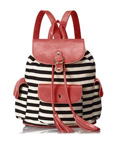 90s are coming back, Poverty Flats Women's Stripey Backpack, Black/Red, http://www.myhabit.com/redirect/ref=qd_sw_dp_pi_li?url=http%3A%2F%2Fwww.myhabit.com%2Fdp%2FB00K7TCU98%3Frefcust%3DYBUPGUDOYQQQVHKORO4FT72C2E