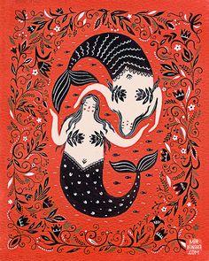 Mermaids by Dinara Mirtalipova